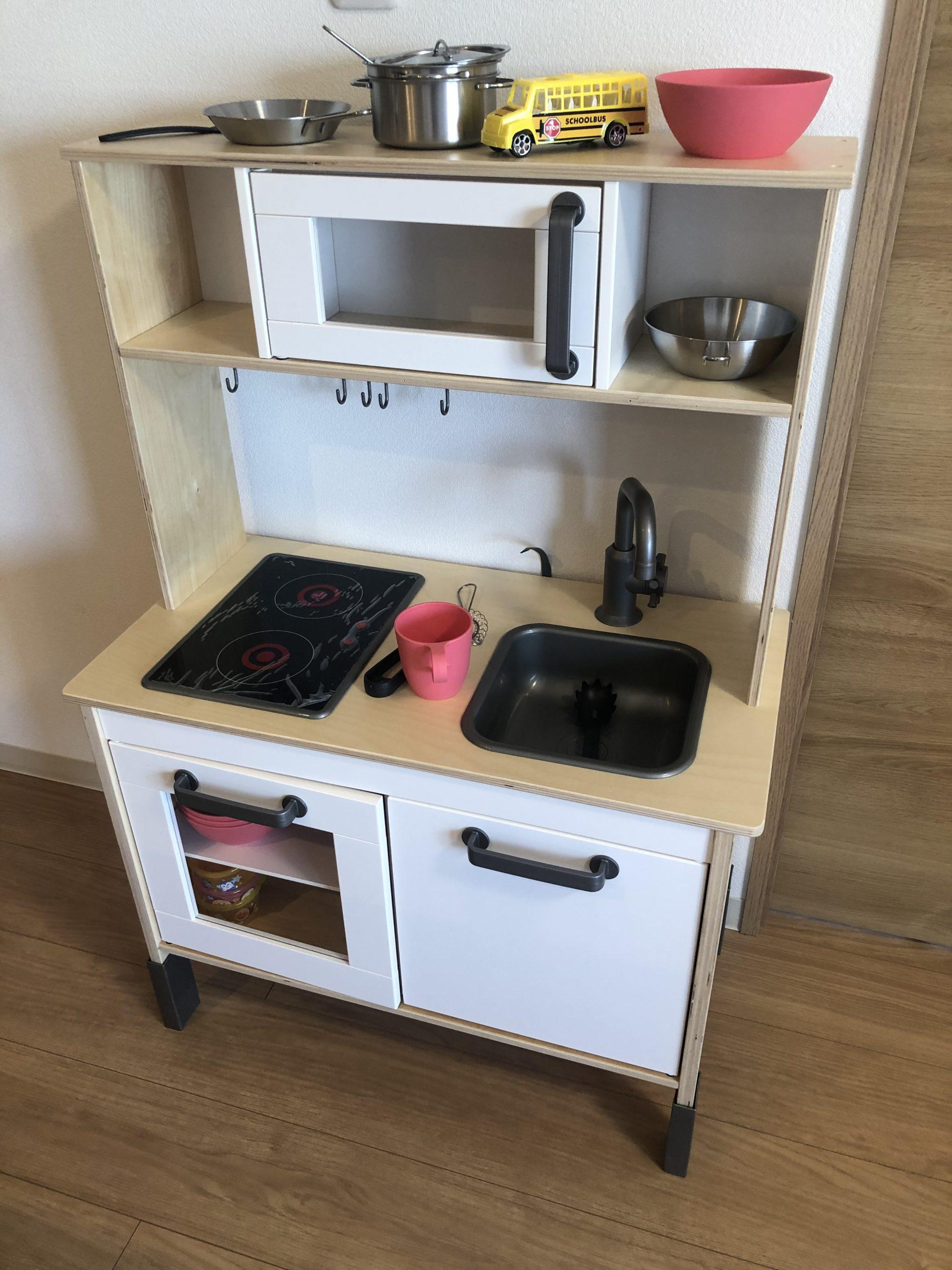 【IKEA】イケアのおままごとキッチンを買って大満足!組み立てに一苦労…